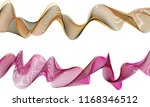 a pair of double layered ribbon ... | Shutterstock .eps vector #1168346512
