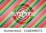 ankle christmas badge... | Shutterstock .eps vector #1168348372