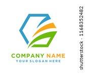 faster logo template vector | Shutterstock .eps vector #1168352482