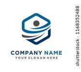 faster logo template vector | Shutterstock .eps vector #1168352488