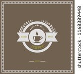 vintage icon for coffee theme.... | Shutterstock .eps vector #1168389448