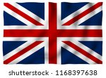 waving flag of the great... | Shutterstock . vector #1168397638