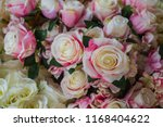 beautiful flower decorate... | Shutterstock . vector #1168404622