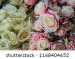beautiful flower decorate... | Shutterstock . vector #1168404652