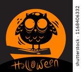halloween background design   Shutterstock .eps vector #1168406332