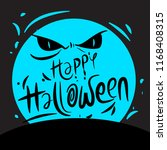 halloween background design | Shutterstock .eps vector #1168408315