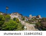 ulcinj  montenegro   april 2018 ... | Shutterstock . vector #1168410562