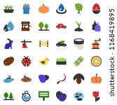colored vector icon set  ... | Shutterstock .eps vector #1168419895