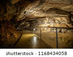 cave with concrete footpath and ...   Shutterstock . vector #1168434058