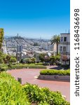 san francisco  the lombard... | Shutterstock . vector #1168436698
