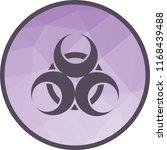 epidemic  hazard  sign | Shutterstock .eps vector #1168439488