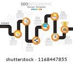 infographic concept... | Shutterstock .eps vector #1168447855