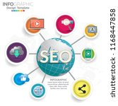 infographic concept... | Shutterstock .eps vector #1168447858