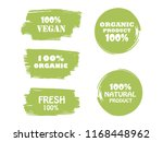 organic  bio  eco  natural... | Shutterstock .eps vector #1168448962