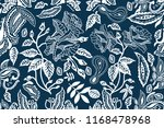 blue and white wide print....   Shutterstock .eps vector #1168478968