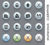 internet icons for web site ... | Shutterstock .eps vector #116849458