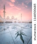 sheikh zayed grand mosque in... | Shutterstock . vector #1168500685