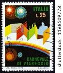 italy   circa 1973  a stamp... | Shutterstock . vector #1168509778