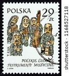 poland   circa 1984  a stamp... | Shutterstock . vector #1168527118