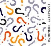 quiz seamless pattern. question ...   Shutterstock .eps vector #1168543075
