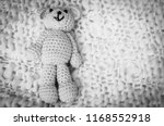 a soft teddy bear  toy for... | Shutterstock . vector #1168552918