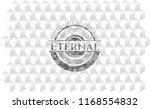 eternal grey emblem. retro with ... | Shutterstock .eps vector #1168554832