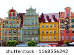 cityview old town wroc aw ... | Shutterstock . vector #1168556242