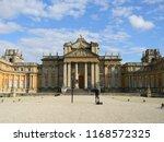 blenheim castle oxfordshire ... | Shutterstock . vector #1168572325