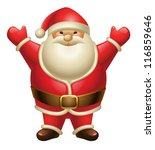 illustration of santa claus... | Shutterstock .eps vector #116859646