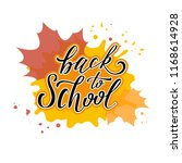 back to school illustration.... | Shutterstock .eps vector #1168614928