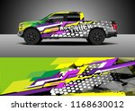 pick up truck decal wrap design ...