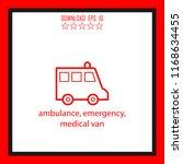 ambulance  emergency  medical... | Shutterstock .eps vector #1168634455