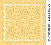 design print for kerchief. the... | Shutterstock .eps vector #1168636708