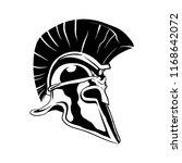 rome spartan helmet | Shutterstock .eps vector #1168642072