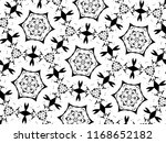 ornament with elements of black ... | Shutterstock . vector #1168652182