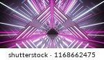 empty futuristic sci fi... | Shutterstock . vector #1168662475