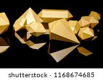 close up view of shiny faceted... | Shutterstock . vector #1168674685