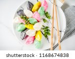 traditional chuseok day food ... | Shutterstock . vector #1168674838