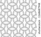 vector seamless pattern ... | Shutterstock .eps vector #1168687948
