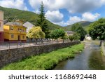picturesque village of ig e a... | Shutterstock . vector #1168692448