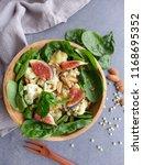 delicious homemade cuisine  ... | Shutterstock . vector #1168695352