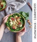 delicious homemade cuisine  ... | Shutterstock . vector #1168695355