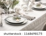 Table Served For Christmas...