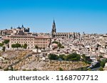 toledo is an ancient city on... | Shutterstock . vector #1168707712