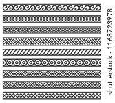 border decoration seamless... | Shutterstock .eps vector #1168723978