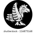 tribal bird | Shutterstock .eps vector #116875168