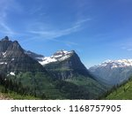 glacier national park | Shutterstock . vector #1168757905