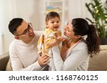 family  parenthood and people...   Shutterstock . vector #1168760125