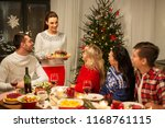 holidays and celebration... | Shutterstock . vector #1168761115