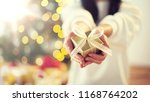 holidays  presents  new year... | Shutterstock . vector #1168764202
